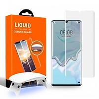 Kính Cường Lực UV T-MAX LIQUID Dành Cho Huawei Mate 20Pro/ P30 Pro (Bộ Full có đèn UV)