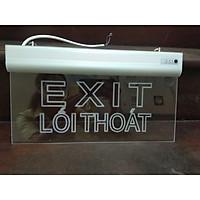 Đèn led Exit mica 1 mặt không chỉ hướng CSC06-04