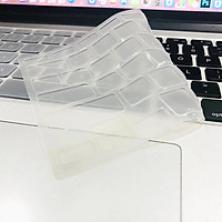Silicone Keyboard Cover Case Flat-laying Transparent Clear Protecter Film 14-inch/15.6-inch Universal Film