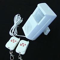 Báo động hồng ngoại cảm biến chống trộm còi hú lớn có ĐKTX thông minh, an toàn bảo vệ nhà cửa V1 (Tặng đèn pin bóp tay min- giao màu ngẫu nhiên)
