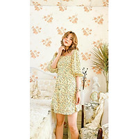 Đầm thiết kế vàng hoa nhí Sunny Dress Gem Clothing SP006148