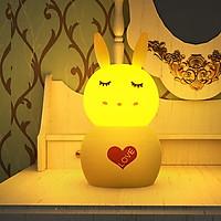 Đèn Ngủ Con Thỏ Thông Minh Có Thể Đổi Màu Dùng Điều Khiển Từ Xa