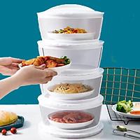 Lồng bàn giữ nhiệt đậy thức ăn 5 tầng mẫu mới 2021 mẫu mới