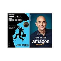 Combo Sách - Jeff Bezos Và Kỷ Nguyên Amazon + Những Cuộc Phiêu Lưu Trong Kinh Doanh