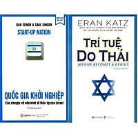 Combo Giải Mã Bí Mật Thông Minh Của Dân Tộc Do Thái ( Quốc Gia Khởi Nghiệp + Trí Tuệ Do Thái ) tặng kèm bookmark Sáng Tạo
