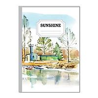 Lốc sổ may gáy A4 Hải Tiến - Sunshine