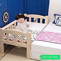Giường cho bé, giường cũi cho bé ghép cạnh giường người lớn kích thước 150*70*40 dùng từ sơ sinh tới 10 tuổi