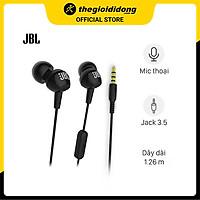 Tai nghe EP JBL C150 Đen - Hàng Chính Hãng