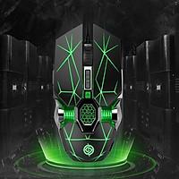 Chuột Gaming Có Dây 7 Nút Siêu Khủng Q7 Super Gaming Kiểu Dáng Siêu Độc Lạ, Led RGB Tự Đổi Màu - hàng nhập khẩu