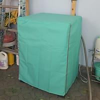 [Vải Dù Xịn Không Nổ Vỏ] Áo Trùm Máy Giặt Cửa Trước Bọc Máy Giặt Cửa Ngang Vải Dù Siêu Bền Chống Thấm Chống Nắng Chống Mưa cho máy từ 7-8kg kích thước 60x60x85cm - Giao màu ngẫu nhiên