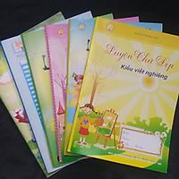 Bộ 6 Tập Mẫu Luyện Chữ Đẹp
