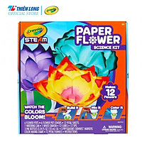 Bộ đồ chơi khoa học Crayola STEAM Paper Flower Science