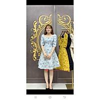 Đầm xoè gấm tay lỡ siêu xinh TRIPBLE T DRESS - Size M/L - MS237V