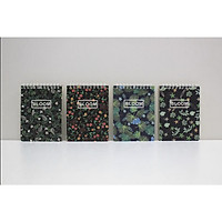 Sổ vở lò xo Joytop Bloom hoa lá A6 92 trang 10,5x14cm - 1 cuốn - hình ngẫu nhiên