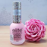 Sơn dưỡng móng Elite Spring Imperial Pháp 18ml ,Hương Dâu - 18ML