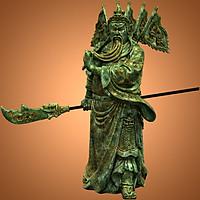 Tượng Quan Công đứng 60cm - QC010