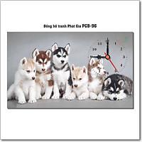 Đồng hồ tranh để bàn PGB-96
