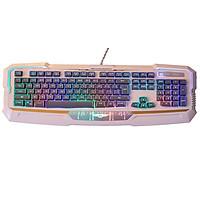 Bàn phím Gaming có dây Newmen KB813 - có đèn LED (Trắng Đen) - Hàng Chính Hãng