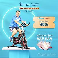 Xe đạp tập thể dục tại nhà Toshiko X8 - giúp tăng cơ hiệu quả