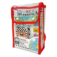 Travel Activity Pack: Fun-filled Backpack Bursting with Games and Activities