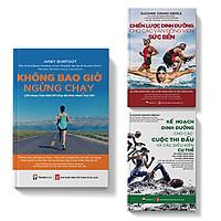 Sách Combo Chạy bộ Dinh dưỡng Thể thao - Không bao giờ ngừng chạy Kế hoạch dinh dưỡng Chiến lược dinh dưỡng - Pandabooks