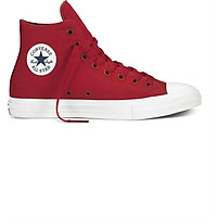 Giày Sneaker Unisex Converse Chuck Taylor All Star II Salsa Hi - Red