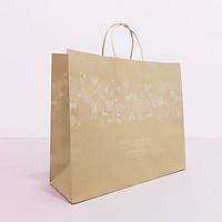 Túi giấy Kraft NâuNoel Xmas- Size 36 x 30.5 x 12cm [COMBO 10 cái] Mã XMAS04N