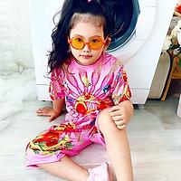 Set đồ bộ quần áo trẻ em in hình Chuột Vàng dễ thương - Độ tuổi 1 - 10 - AKN006