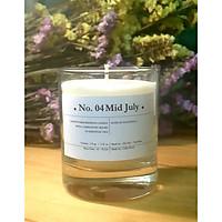 No. 04 Mid July - Nến thơm sáp ong cao câp và tinh dầu patchouly - tinh dầu hoắc hương