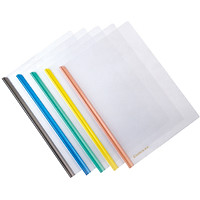 (Comix) 5 loaded bar-type report folder A4 folder HF287A color random