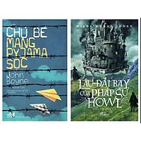 Sách - Combo 2 cuốn Lâu Đài Bay Của Pháp Sư Howl + Chú Bé Mang Pyjama Sọc