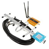 GSM 900Mhz Tín Hiệu Điện Thoại Repeater Tăng Áp Khuếch Đại W/Yagi Ăng Ten Bộ