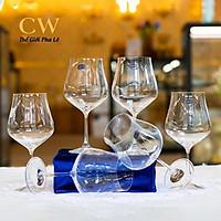 Ly Rượu Vang Đỏ Pha Lê Tiệp Khắc Crystalex Tulipa 600ml Red Wine