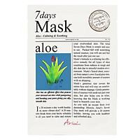 Mặt Nạ 7 Ngày Tinh Chất Lô Hội Ariul 7 Days Mask Aloe 20ml