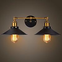 Đèn gắn tường kiểu công nghiệp đôi hình cái phễu GTCN99 ( bao gồm bóng)
