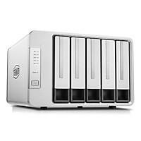 Bộ lưu trữ dữ liệu TerraMaster D5-300C RAID 2+3, USB Type-C, 5 HDD-bay, tốc độ 410MB/s - Hàng chính hãng