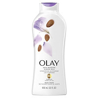 Sữa tắm OLAY Hydrating Clean Almond Milk (650ml)