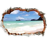 Biển Seaview - Decal 3D hình dán trang trí