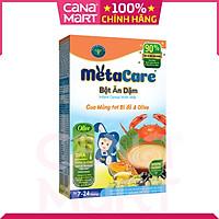 Bột ăn dặm tốt cho bé Nutricare Metacare Cua mùng tơi bí đỏ & Olive (200g)