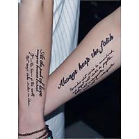 Hình Xăm Dán Tattoo 22cm x 10cm