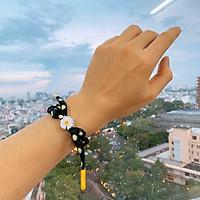 Vòng tay Nam Nữ HOA CÚC dây bện đeo tay cho cặp đôi giá rẻ HOT TREND