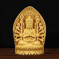 Tượng gỗ thủ công Thiên Thủ Thiên Nhãn (1 Tượng) MA07