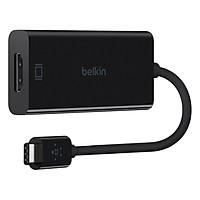 Cáp Chuyển Đổi USB Type-C Sang HDMI Belkin F2CU038BTBLK (Đen) - Hàng Chính Hãng