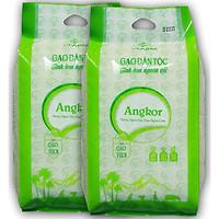 Gạo đặc sản Campuchia Angkor 5KG - Gieo trồng tại vùng biên giơi Tây Ninh -  Gạo lúa mùa thơm ngon đặc biệt