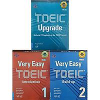 Sách - Combo 3 Cuốn Luyện Thi NEW TOEIC. Trình Độ Sơ - Trung Cấp (Very Easy TOEIC 1 + Very Easy TOEIC 2 + TOEIC Upgrade)