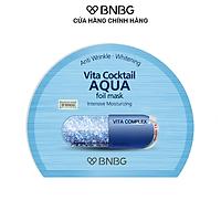 Mặt Nạ Cấp Ẩm Chuyên Sâu BNBG Vita Cocktail Aqua Foil Mask Intensive Moisturizing 30ml