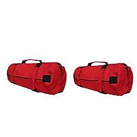2x Oxford 40lbs Sandbags for Fitness Cross-Training with Inner 8Pcs Sandbags