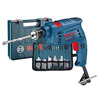 Máy Khoan Động Lực Bosch GSB 10 RE 2 + 97 món phụ kiện.