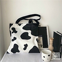 Túi Vải Ulzzang Bò Sữa
