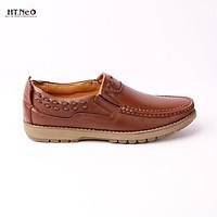 giày mọi da bò cao cấp đế cao su đặc đường chỉ chắc chắn GM61